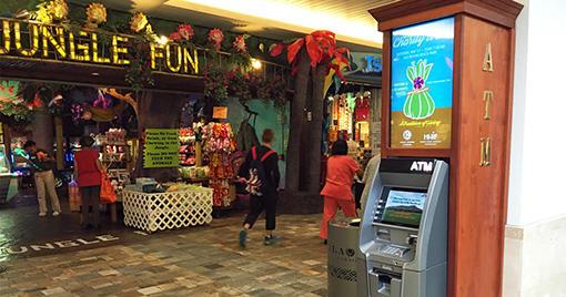 海外ATMでの引き出し方